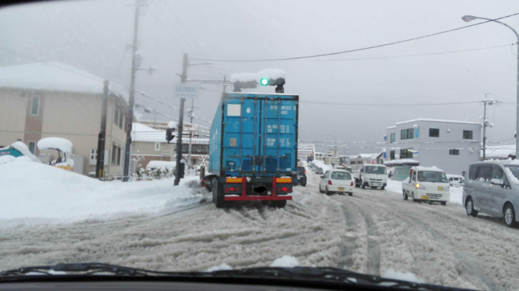 この冬3度目の彦根の大雪(2017)滋賀・彦根で33年ぶりの大雪 25日朝は全国的に凍てつく寒さ